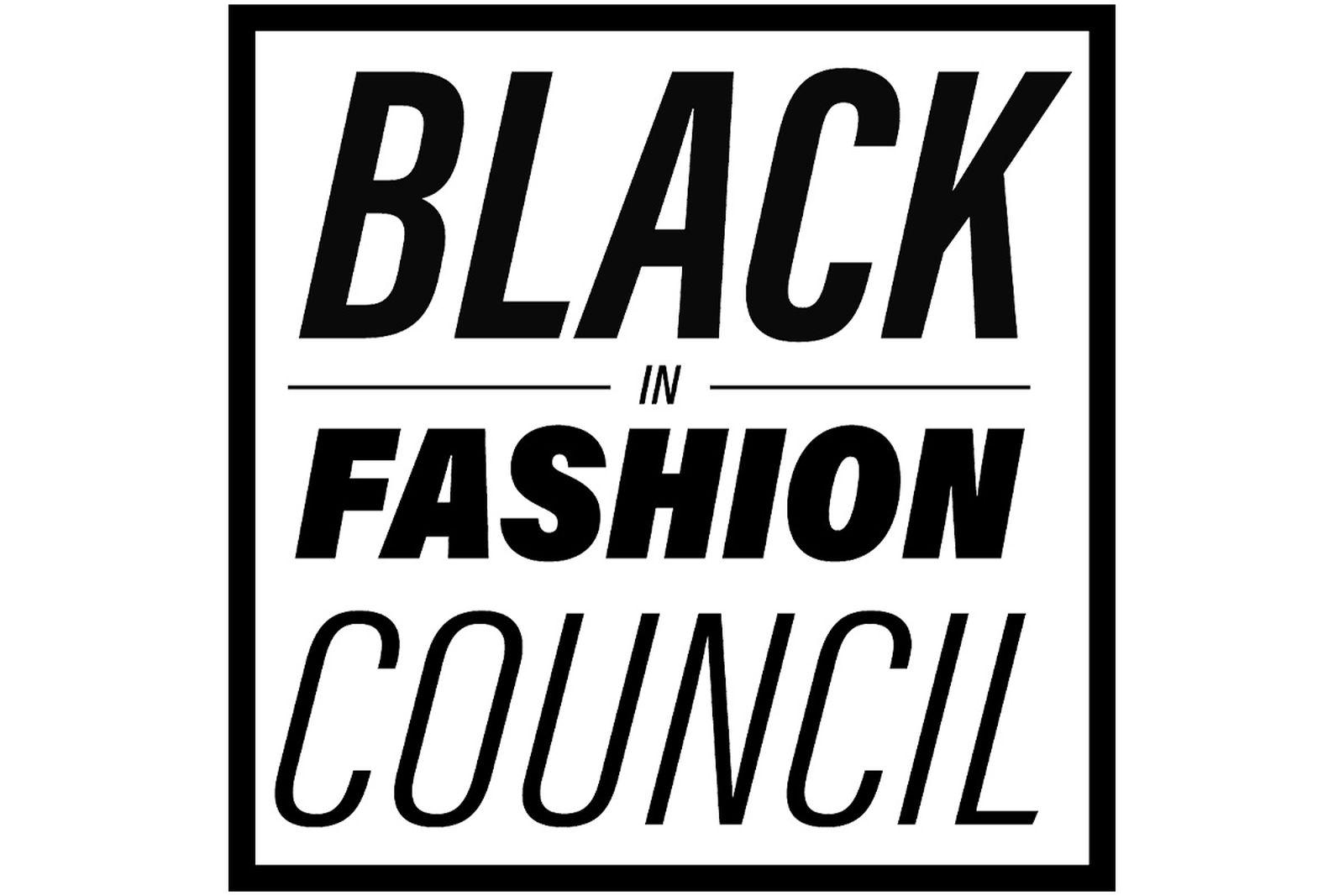 Black in Fashion Council logo