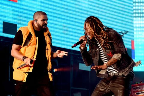 Drake and Future perform on the Coachella Stage