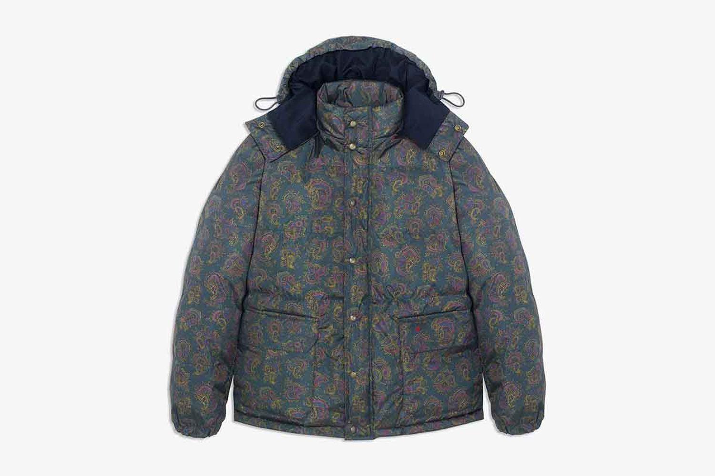 Paisley Cashball Puffer Jacket