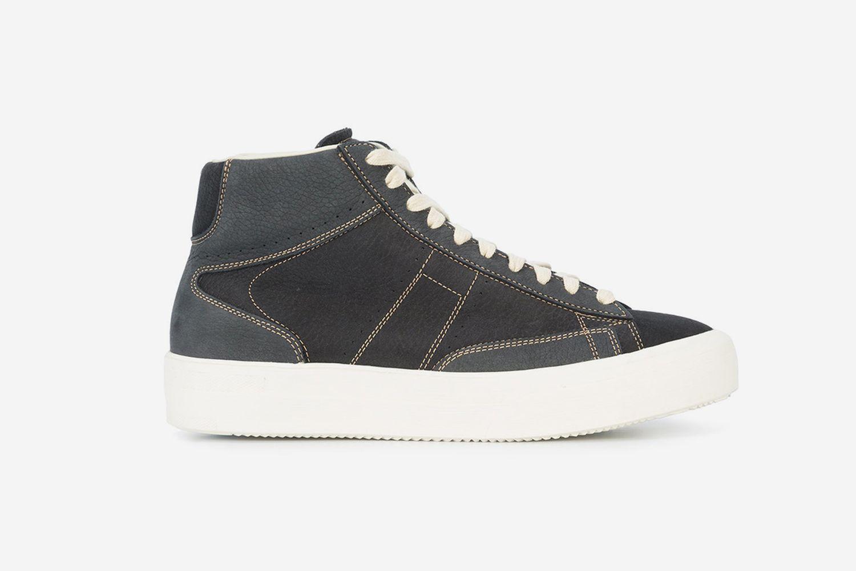Contrast High Top Sneakers