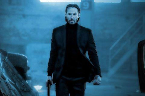 keanu reeves best movie looks john wick 3 the Matrix