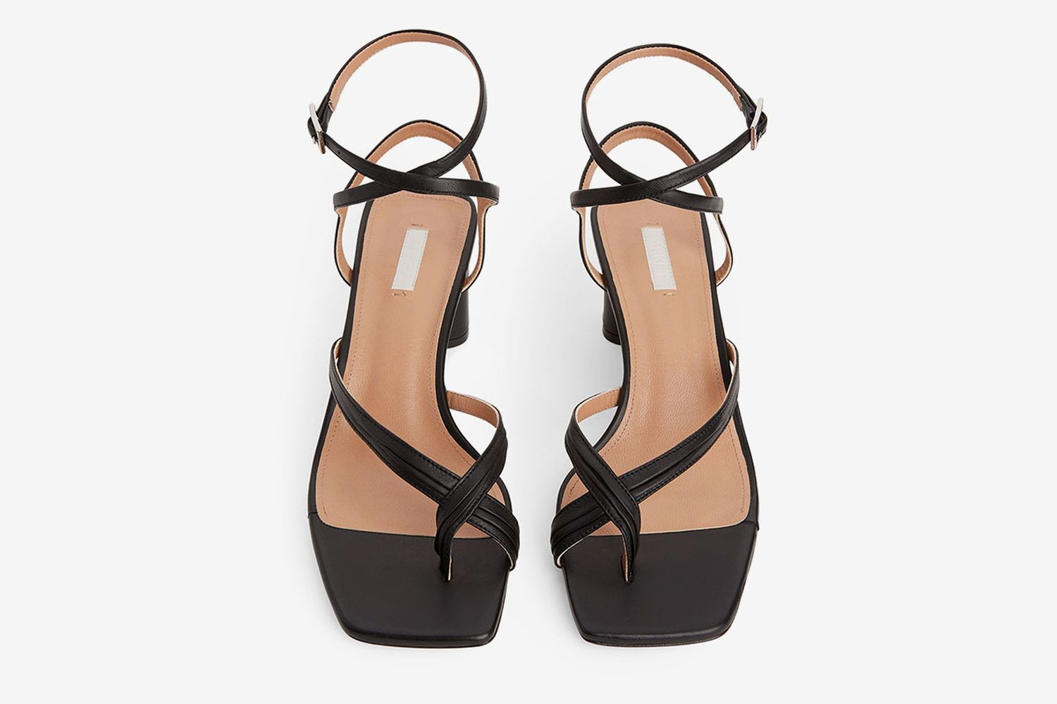 Ankle-Wrap Leather Sandal