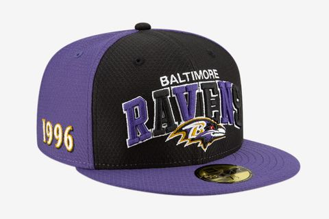 Baltimore Ravens Home 59FIFTY Fitted