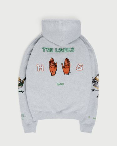 Inner Life by Highsnobiety - The Lovers Hoodie Gray