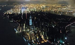 New York Magazine's Breathtaking Cover Shows A Blacked-Out Manhattan From The Sky