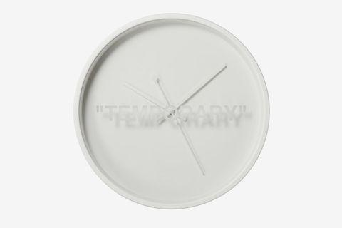 The Virgil Abloh X Ikea Markerad Wall Clock Surprise Drops I