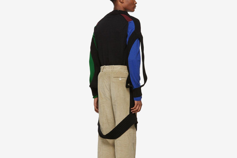 Decortique V-neck Sweater
