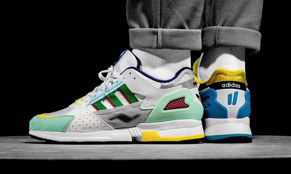 the best attitude bf0c0 01dee Overkill x adidas ZX 10,000 C  Where to Buy Tomorrow