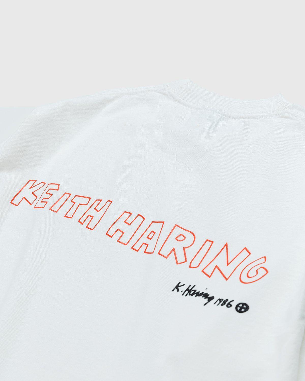 Highsnobiety x Keith Haring – White Longsleeve - Image 3