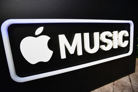 Apple Music sign