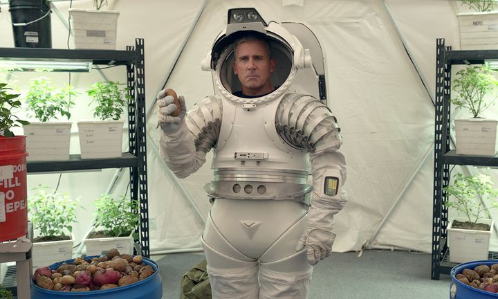 Steve Carell Space Force trailer