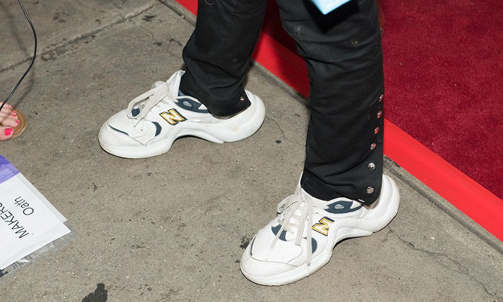 e51607874dd0 Jaden Smith s Custom New Balance x Louis Vuitton Kicks