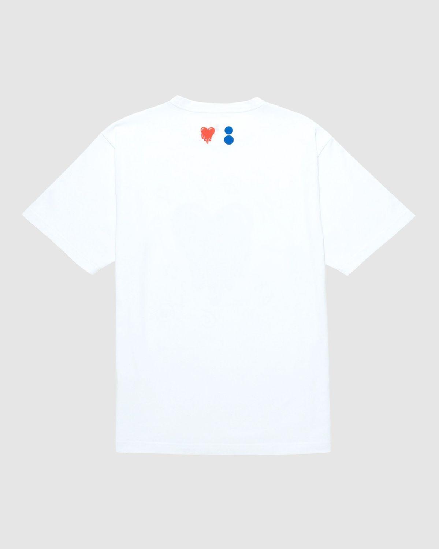 Colette Mon Amour x EU - White Heart T-Shirt - Image 2