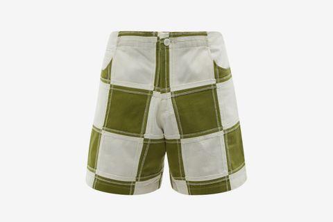 Vathi Patchwork Shorts
