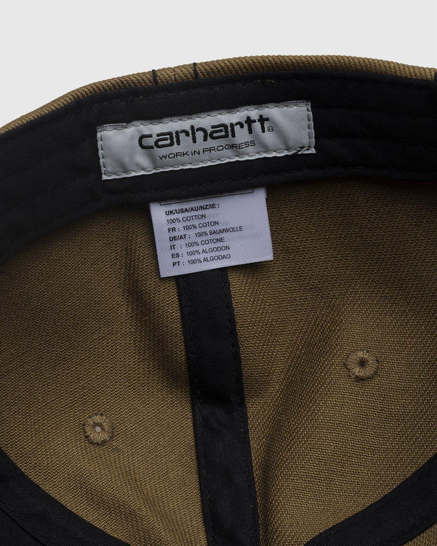 Carhartt WIP – Contrast Stitch Cap Green - Image 6