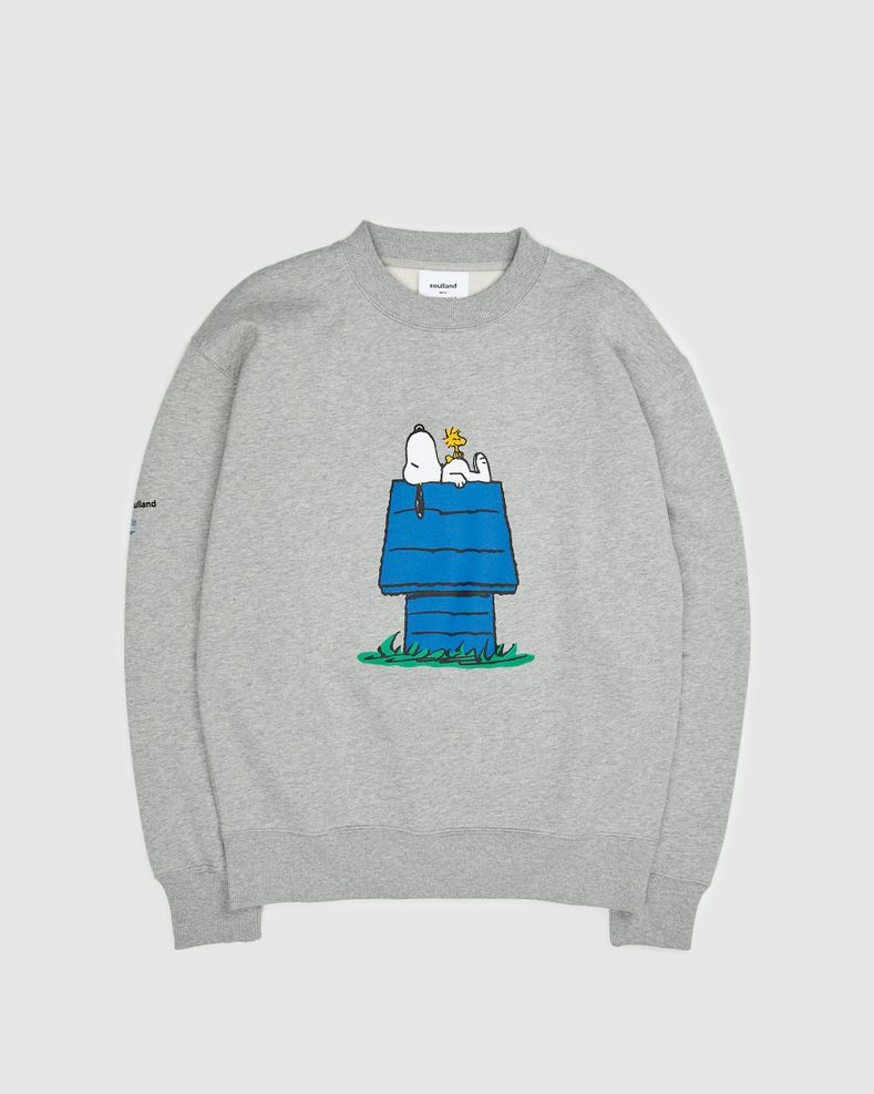 Colette Mon Amour x Soulland —  Snoopy Bed Grey Crewneck