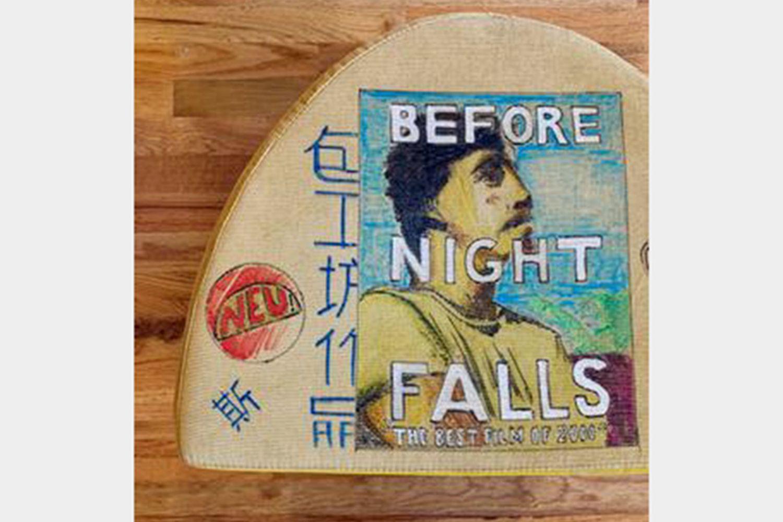 Before Night Falls Half Moon Stool
