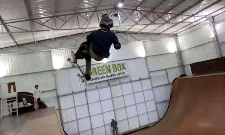 Gui Khury 1080 skateboarding