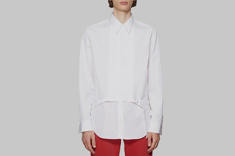 Detachable Placket Shirt