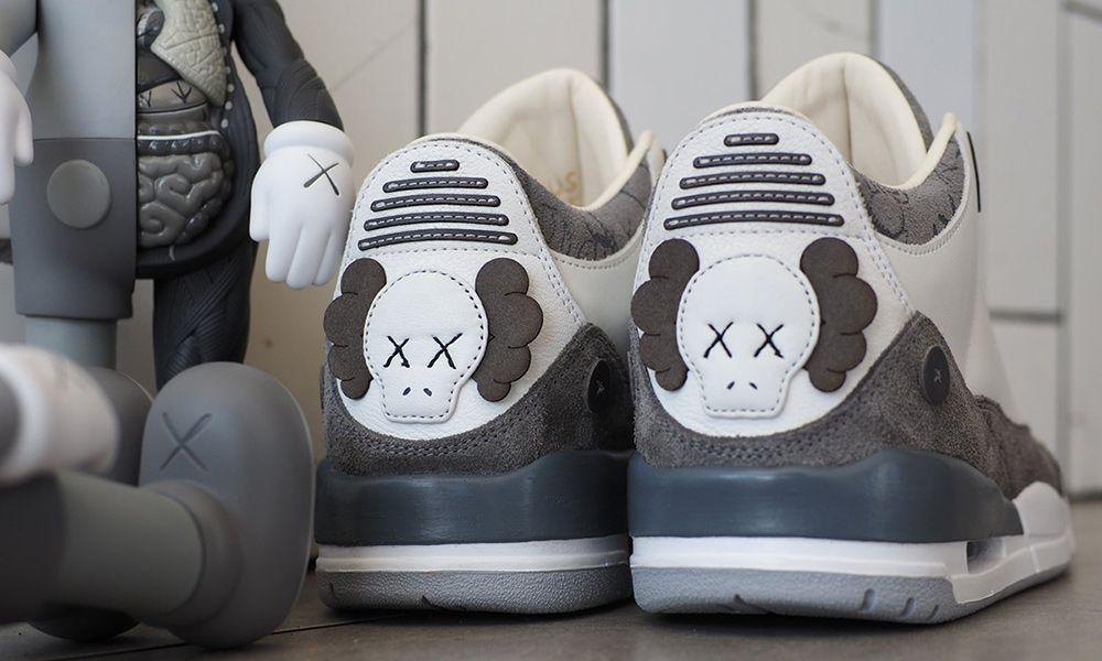 d0723cbd070c This Is What a KAWS x Nike Air Jordan 3 Could Look Like