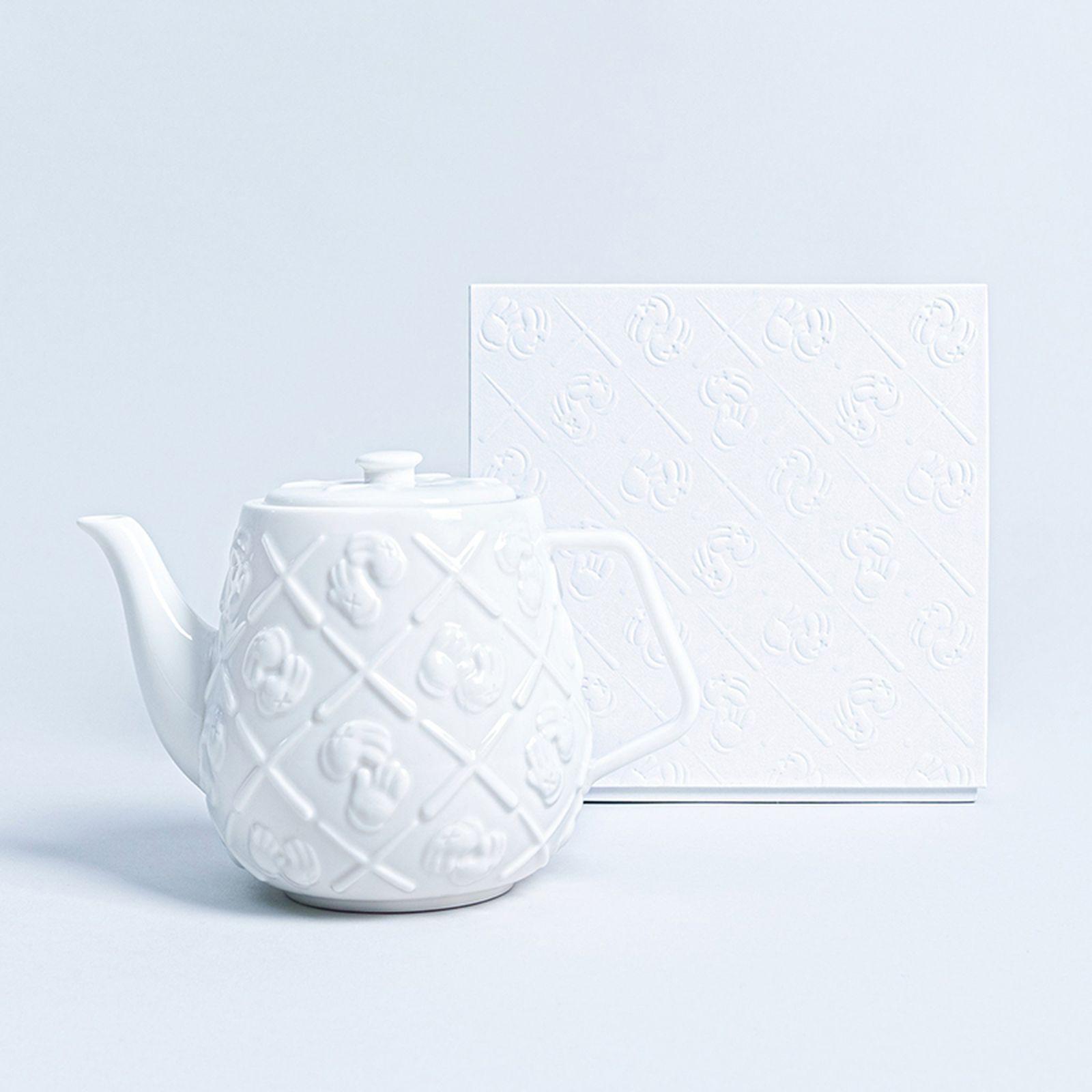 KAWS teapot