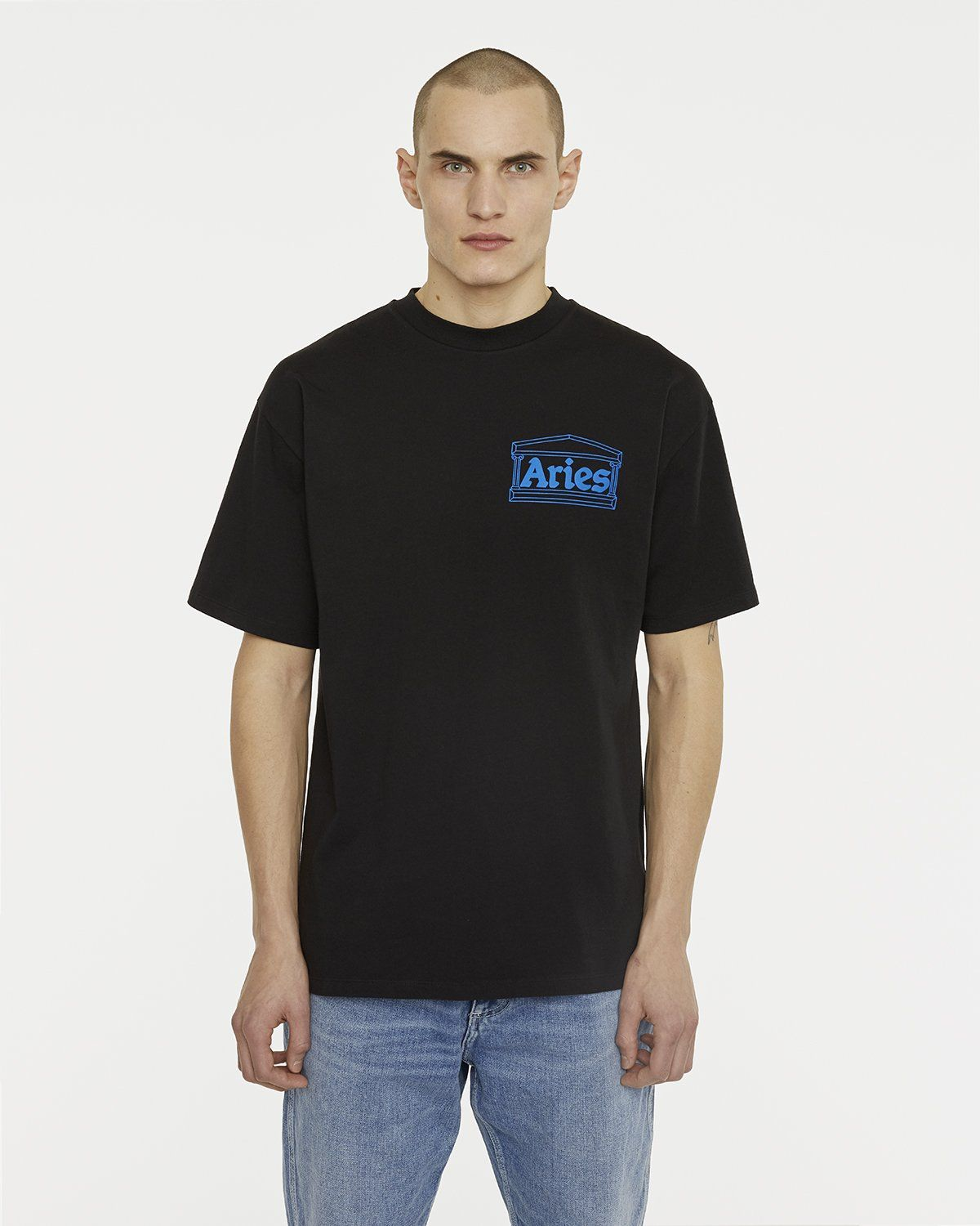 Aries - Temple Tee Black - Image 3