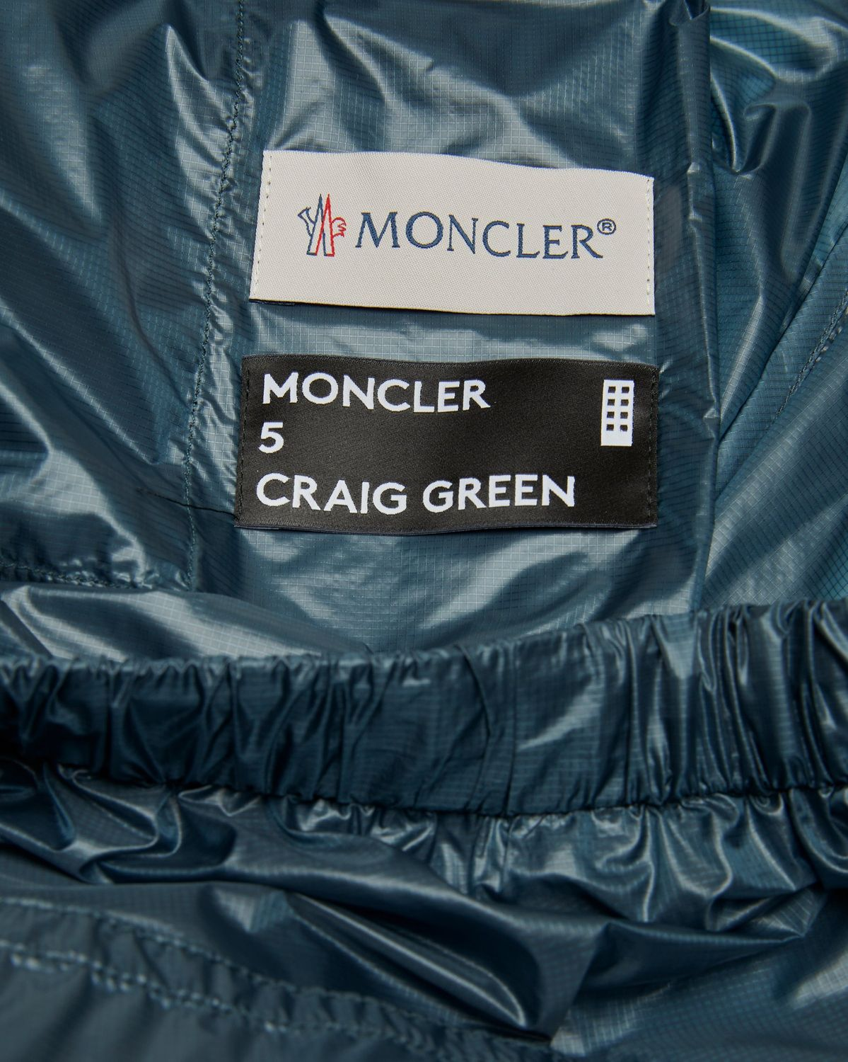 5 Moncler Craig Green — Trousers Grey/Blue - Image 4