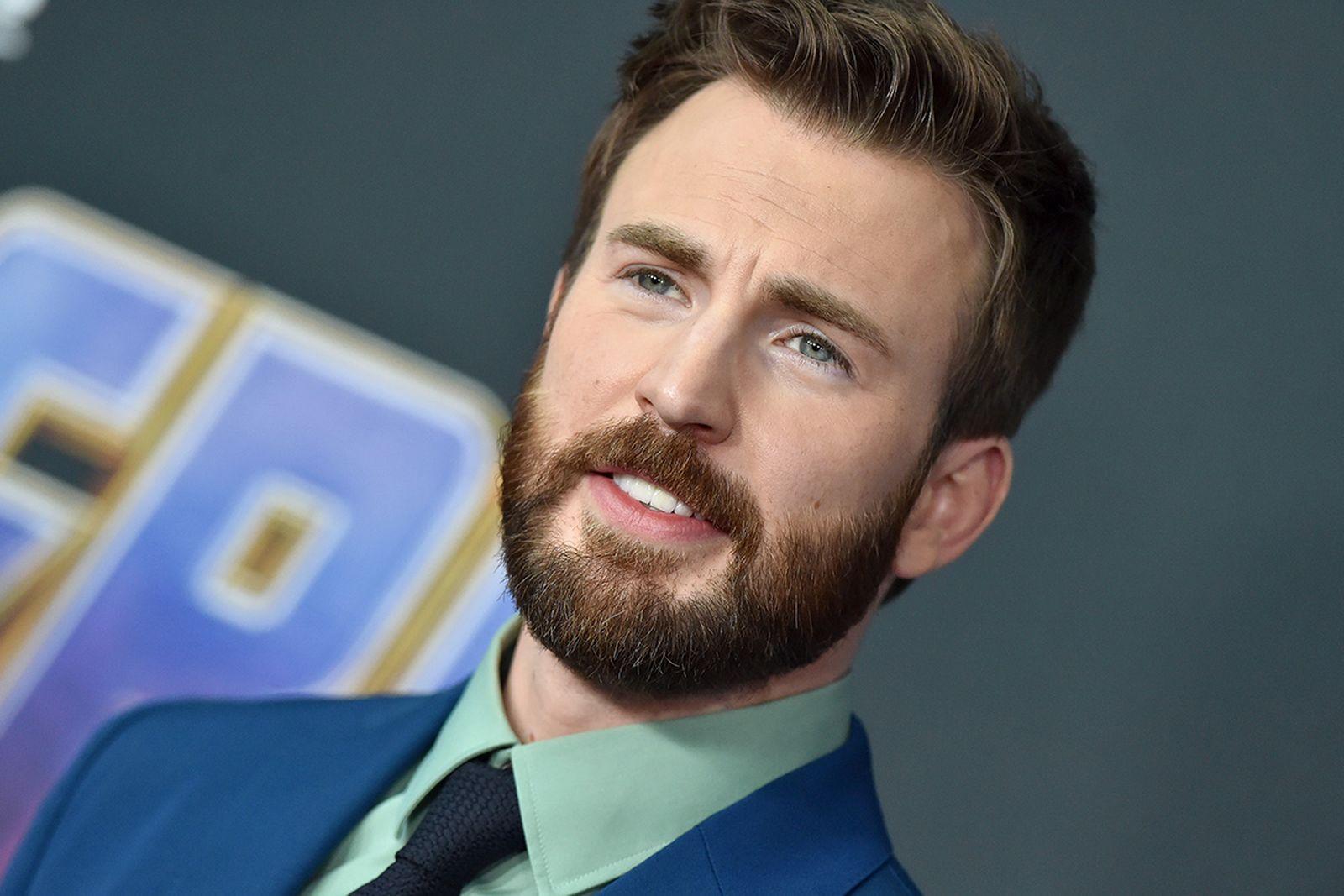 Chris Evans attends the World Premiere of Walt Disney Studios Motion Pictures 'Avengers: Endgame'