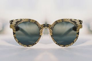 e60b4a005ca5 MYKITA x Maison Margiela s Latest Sunglasses Are Hand-Etched With Snakeskin  Patterns