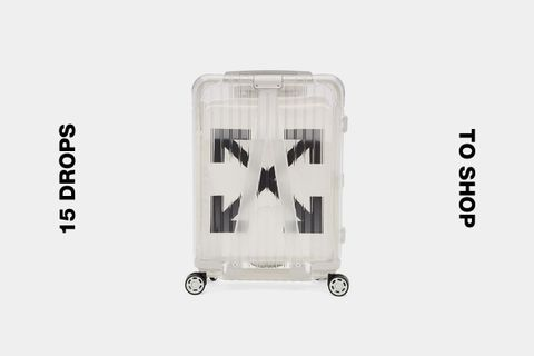 off white rimowa luggage best drops buy 1017 ALYX 9SM Handmade Rust OFF-WHITE c/o Virgil Abloh