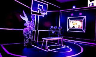 Josh Vides Opens Galactic 'Space Jam' Exhibit in LA