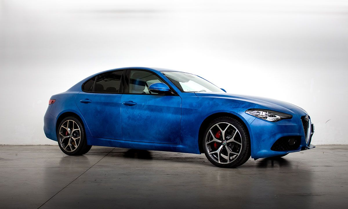 Garage Italia Turns the Alfa Romeo Giulia Veloce Into Drivable Fine Art
