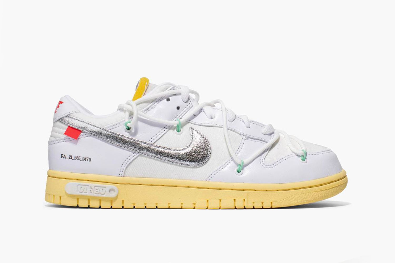 Off-White™ Dunk Low Lot 1