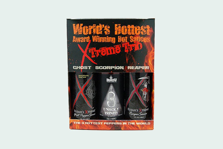 Worlds Hottest Award Winning Hot Sauces Xtreme Trio