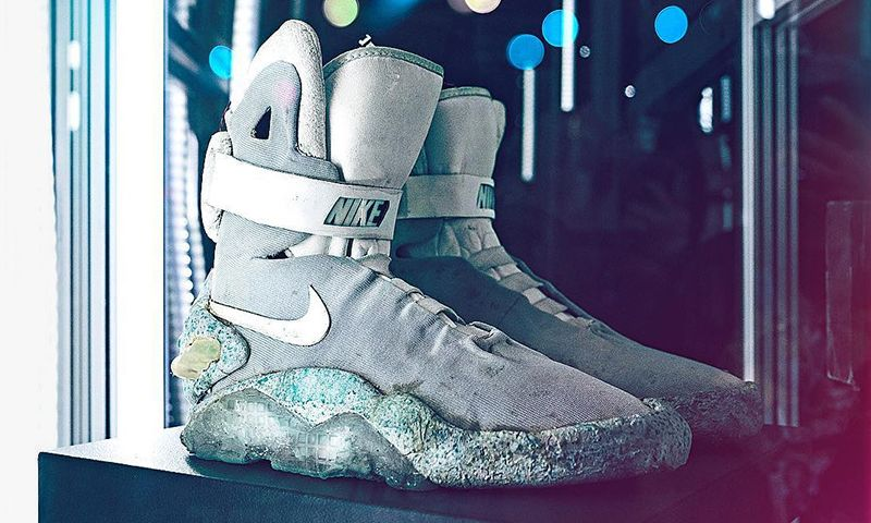 caloría sed convertible  Original Marty McFly-Worn Nike MAGs Will be Auctioned Soon
