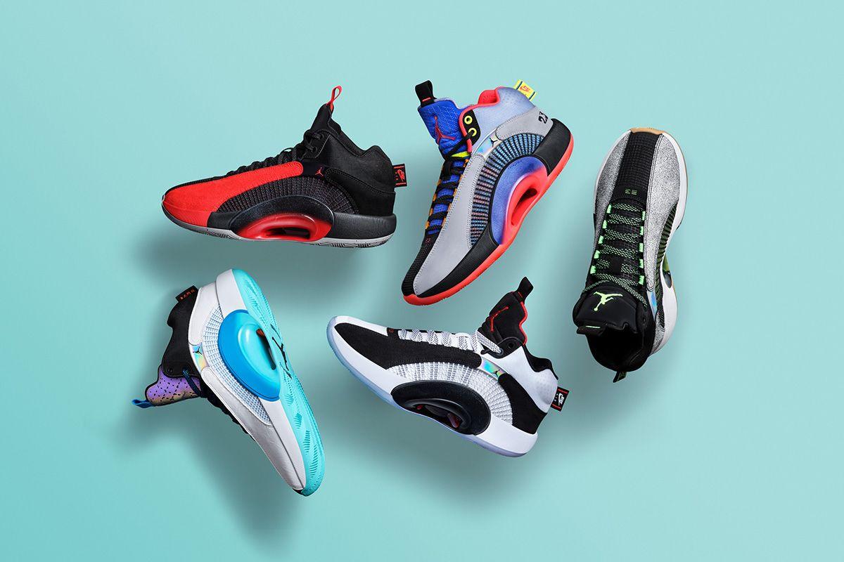 Nike's Air Jordan 35 Pulls Inspiration From a Familiar Source 3
