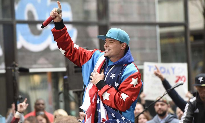"Vanilla Ice performs live on stage for NBC's ""Today"""