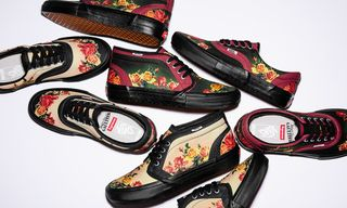 The Floral-Dominated Jean Paul Gaultier x Supreme Vans Collab Drops Today