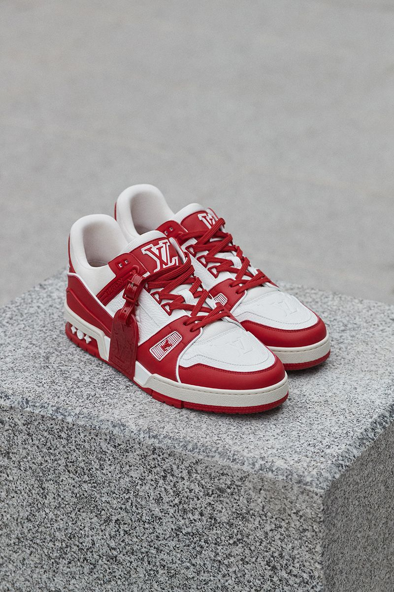Louis Vuitton Joins the Fight to End AIDS With (RED) LV Trainer 11