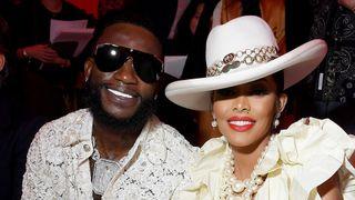 Gucci Mane front row Keyshia Ka'Oir
