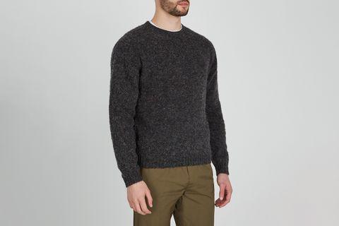 Birnir Charcoal Wool Jumper