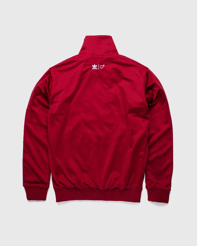 adidas Originals x Human Made — Firebird Track Top Burgundy - Image 3