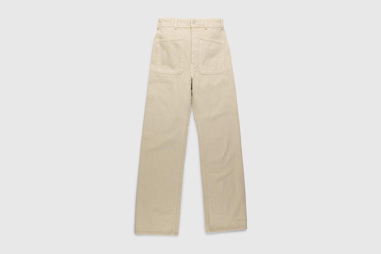 Denim Sailor Pants