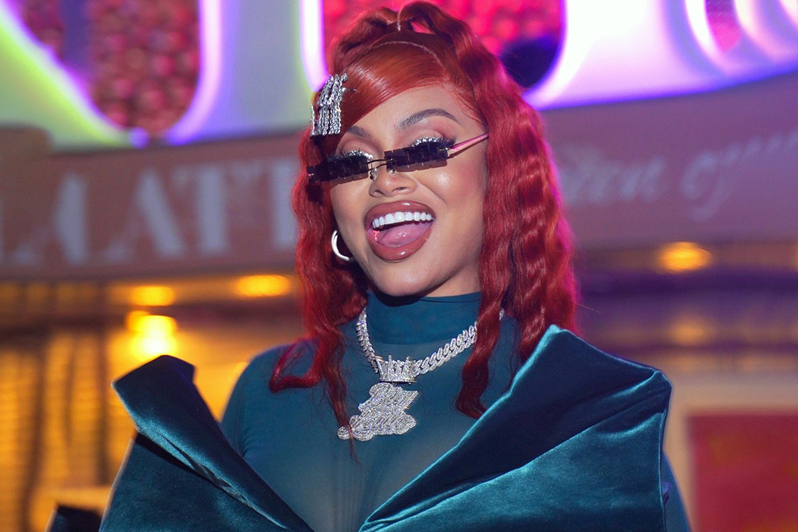 """Rapper Mulatto attends Mulatto """"Queen Of The Souf"""" Album Release Party"""