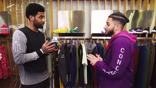 d483440d2937 Watch Kyrie Irving Share His Nike SB Love in  Sneaker Shopping