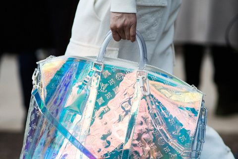 iridescent main Louis Vuitton Maison Margiela Nike