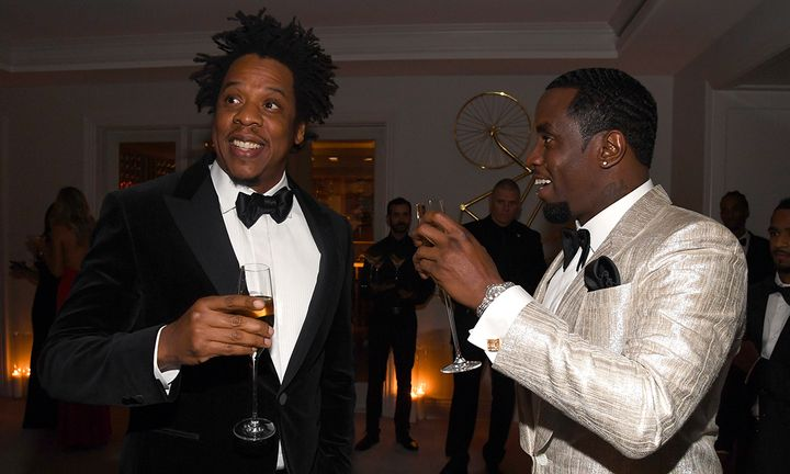 JAY-Z Diddy birthday party
