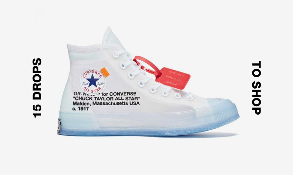 OFF-WHITE x Converse Chuck Taylor: Buy It Online Now