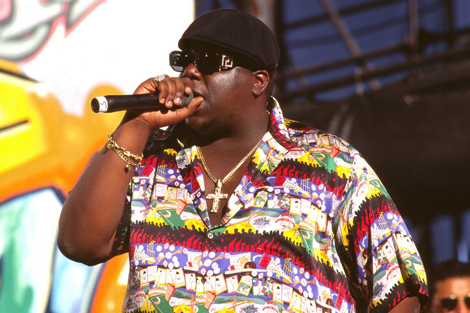The Notorious B.I.G. performing