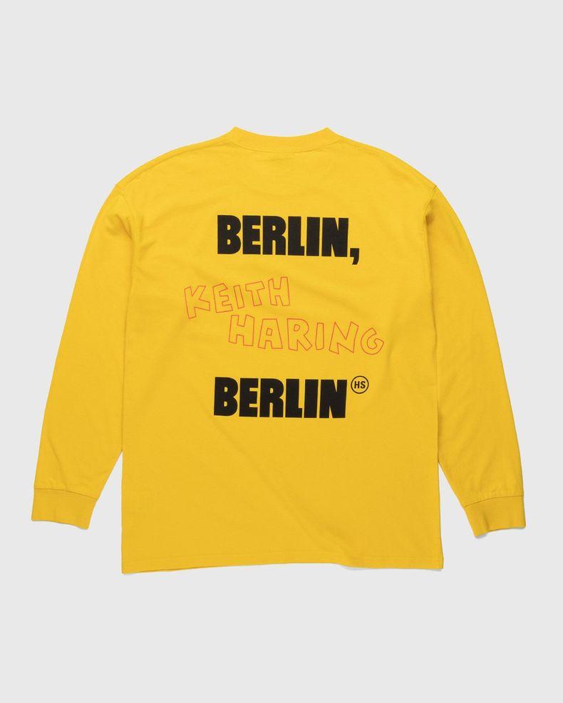 Highsnobiety x Keith Haring – Longsleeve Yellow
